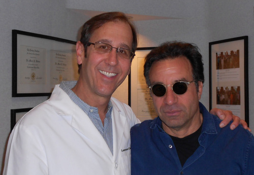 Ray Abruzzo with Dr. Toomin