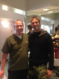 Josh Holloway and Dr. Bieber
